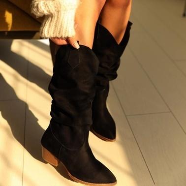 Limoya Çizme Siyah